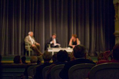 Soirée débat avec Natacha Polony et Périco Légasse.