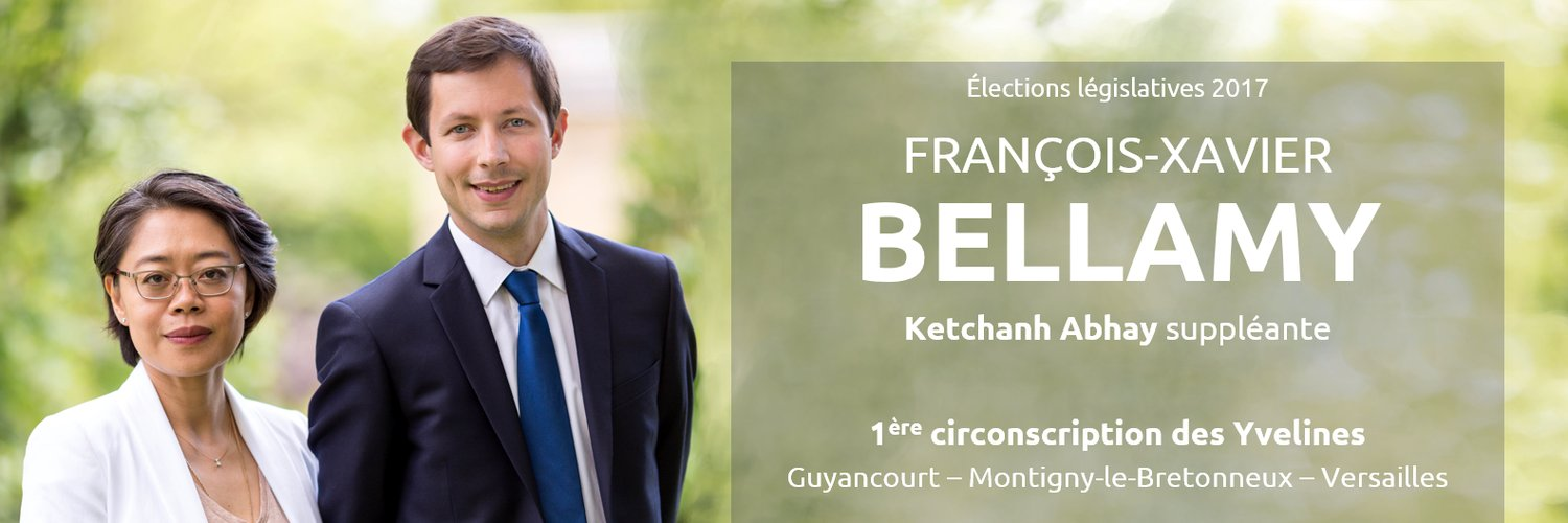 Legislatives francois xavier bellamy